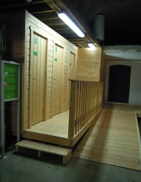 Amenagements en interieur toilettes s ches cologiques for Toilettes seches interieur